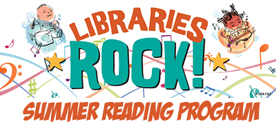 Libraries Rock Summer Reading Clubs